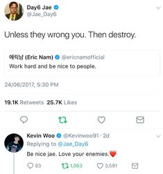 Day6 Jae Twitter, Jae Day6, Love Your Enemies, Eric Nam, Mamamoo, Kpop Groups, Baekhyun, Memes, Funny
