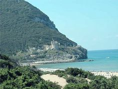 Monte Circeo - one of Cesare Borgia's fortified abodes (Assassin's Creed Brotherhood)