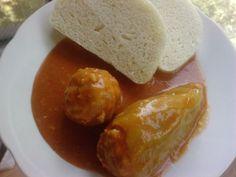FOTORECEPT: Plnená paprika Pretzel Bites, Bread, Menu, Food, Red Peppers, Menu Board Design, Breads, Hoods, Meals