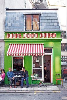 Verdens Mindste Kaffebar | Copenhagen