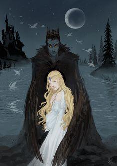 Lake Painting, Lake Art, Princess Art, Princess Aesthetic, Fantasy Illustration, Swan Lake, Illustrators, Character Art, Fantasy Art
