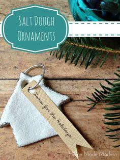 Homemade Salt Dough Ornaments   handmade ornament no. 15 - bystephanielynn