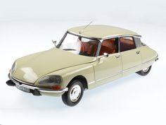 Norev - Schaal 1/18 - Citroën DS 23 Pallas, Ivoor wit