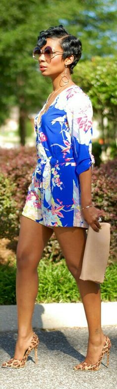 Floral Jumpsuit / Fashion by Young at Style