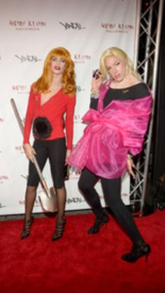 Death Becomes Her costumes!