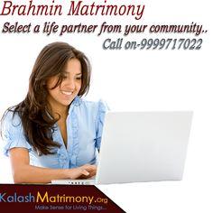 Kalash Matrimony Offers free #Matrimony service Register now Brahmin Matrimony ,and find your perfect match.