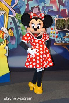 Minnie Mouse posed for me! I love her.