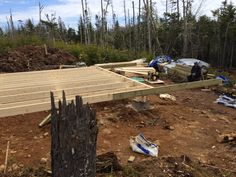 How to: Build a Rock Solid, Low Cost Off Grid Cabin Foundation Building A Small Cabin, Building A Shed, Building Plans, Cabin Plans, Shed Plans, House Plans, Concrete Footings, Deck Posts, Off Grid Cabin