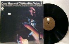 David Houston ~ Greatest Hits Volume 2 LP