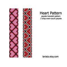 two+drop+peyote+stitch+patterns | Request a custom order and have something made just for you.
