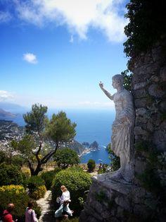 Capri, Monte Solaro overlooking Faraglioni  copyright MylesPhotography