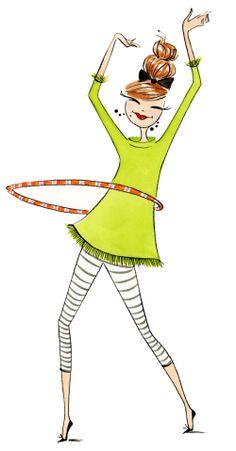 Anne Keenan Higgins GracieHula.jpg ... WHOOP-DEE-DOOP FOR MY HULA HOOP
