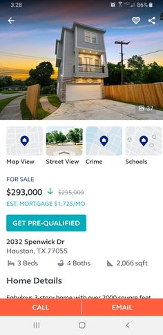 Spring Branch, Pre Qualify, Street View, Home, Ad Home, Homes, Haus, Houses