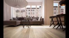 Fertig deska dąb elegance bielony - delikatna struktura podłogi drewnianej.