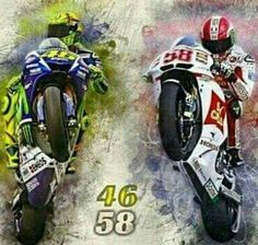 Motogp Valentino Rossi, Valentino Rossi 46, Speed Art, Vr46, Bike Art, Street Bikes, Road Racing, Sport Bikes, Cars And Motorcycles