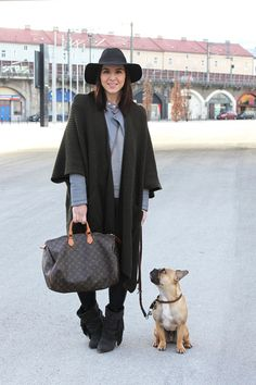 Blogger Who Is Mocca? with her four-legged friend #dog #cute #dogsofpinterest
