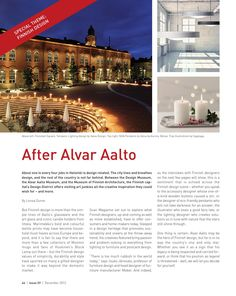 Scan Magazine | Issue 59 | December 2013  Promoting Brand Scandinavia. Featuring interview with Margaret Berger.