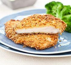 Weight Watchers Almond Crusted Chicken