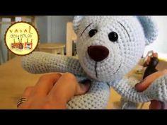 AMIGURUMI - Cabeça de Urso/Coelho/Gato - YouTube