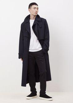 Dries Van Noten. Radley Trench Coat.  menswear mnswr mens style mens fashion fashion style driesvannoten campaign lookbook