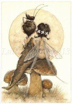 elfi innamorati fungo