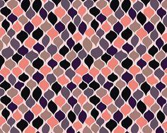 Pattern pink black