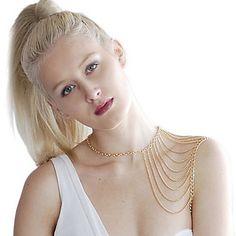 Style européen plaqué or chaîne de ventre de bijoux de corps – EUR € 4.96