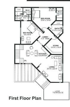 3d House Plans, Model House Plan, House Layout Plans, Floor Plan Layout, Dream House Plans, Duplex Floor Plans, Modern Floor Plans, Home Design Floor Plans, Modern Small House Design
