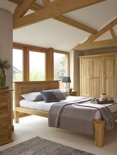 Wall colour Oakdale Solid Oak Furniture Range Oak Bedroom