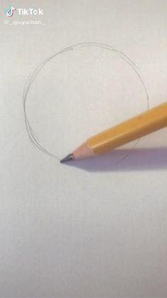 Art Drawings Sketches Simple, Pencil Art Drawings, Cool Drawings, Art Drawings Beautiful, Art Drawings For Kids, Cartoon Art Styles, Drawing Techniques, Art Sketchbook, Art Tutorials