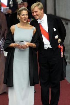 Prince Willem-Alexander (Willem-Alexander Claus George Ferdinand) (1967-living2013) Prince of Orange, Netherlands heir & wife Princess Máxima Zorreguieta Cerruti (1971-living2013) Argentina.