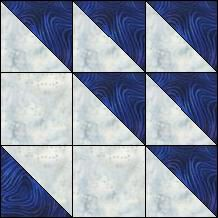Block of Day for August 04, 2014 - Sailboat Guess you'd have to put it on point to imagine a sailboat, but a great use for HST