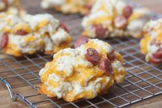 Cheddar and Sausage Whole Wheat Biscuits