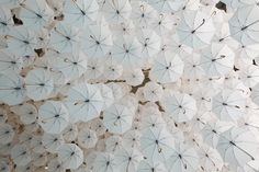 A Cloud Made Of 1,100 Umbrellas By Kaisa And Timo Berry