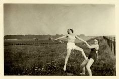 Vintage Snapshots of 'Dangerous' Women from between the 1930s and 1950s
