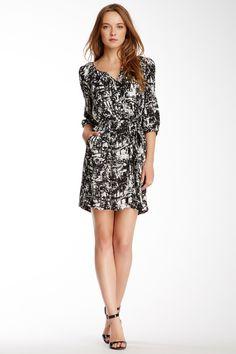 Daniel Rainn Scoop Neck Printed Dress by Daniel Rainn on @nordstrom_rack