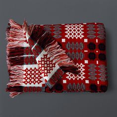 Welsh Tapestry Blanket from Labour and Wait