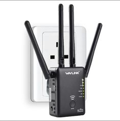Wavlink AC1200 1200Mbps Dual Band 4x3dBi External Antennas Mini Wireless WIFI Repeater Signal Booster    Specification:    1. Brand model: Wavlink AC1200  2. Interface: 2X LAN Ports  3. Button: WPS button / On & Off / Reset / Function selection button (AP Repeater or Router)  4. Wired transfer rate: 10/100Mbps  5. Wi-Fi transmission speed: 1200Mbps  6. Standards and protocols: Wi-Fi 802.11g, Wi-Fi 802.11n, Wi-Fi 802.11b  7. Wi-Fi supported frequency: 2.4G & 5G  8. 2.4G Wi-Fi transmission…