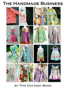 Sweet little handmade dresses for little girls