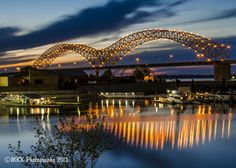 This long exposure shot of the Desoto bridge was recently featured in an article about safety in Memphis in the Commercial Appeal.