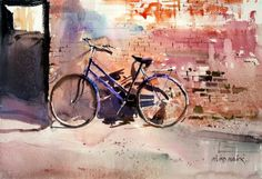 bicycle #watercolor jd