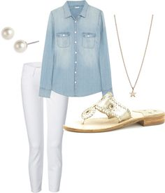 jacks & chambray by clsymcox on Polyvore