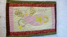 ANGEL OF HOPE11 X 16 quilt by quiltingcafe on Etsy, $27.50
