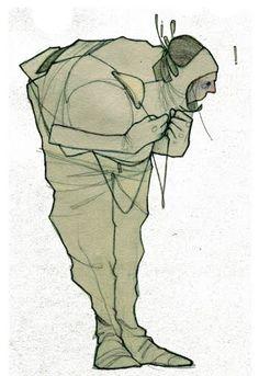 Decoy Magazine: The illustrations of Aitor Throup