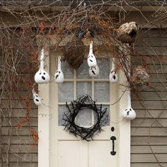 Hanging Ghost Gourds