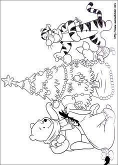 Weihnachten unter Freunden malvorlagen