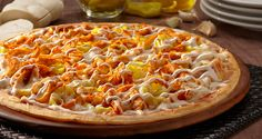 Tailgate parties or just hangin' with the friends to watch some football...Try this Buffalo Chicken with Mama Mary's Pizza Crust