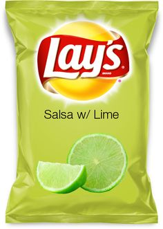 Salsa w/ Lime..my lays chip flavor! I think these flavors are getting out of hand .....