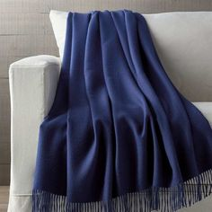 Crate & Barrel Lima Alpaca Indigo Blue Throw Blanket (4 740 UAH) ❤ liked on Polyvore featuring home, bed & bath, bedding, blankets, crate and barrel bedding, alpaca wool throw, alpaca throw blanket, fringed throws and alpaca wool blanket
