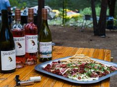 ​Enjoy 5-star gourmet wilderness cuisine with regional wines & micro-brews on a unique culinary tour down Oregon's Rogue River or on the Salmon River in Idaho.